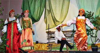 Татьяна Тимофеева из Охвата зажигала на сцене