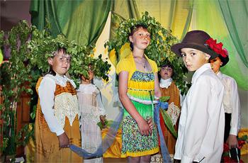 Ворошиловские ребятишки добавили празднику нужный колорит