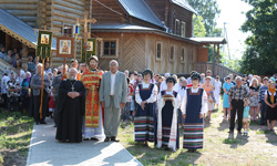 Большой Волжский крестный ход в Пено встречали с торжественностью