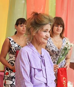 Л.И.Яковлева победитель в номинации «Сердце, отданное детям»