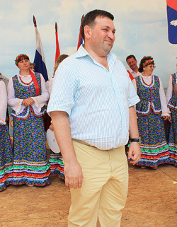 А.Э.Калиновский, награжден в номинации событие года, за реконструкцию кинотеатра «Чайка»
