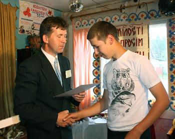 Наколай Мельников из Мошаров, один из победителей конкурса, любит родной край и хочет связать с ним свою дальнейшую жизнь
