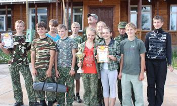 Команда Пеновской СОШ «Чайка» вышла в победители